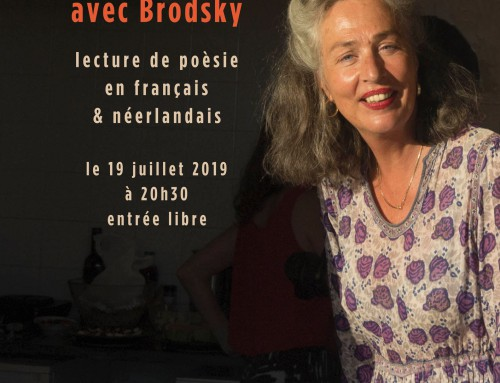 Gerry van der Linden : Lecture de poèsie / Poetry reading 19-07-2019
